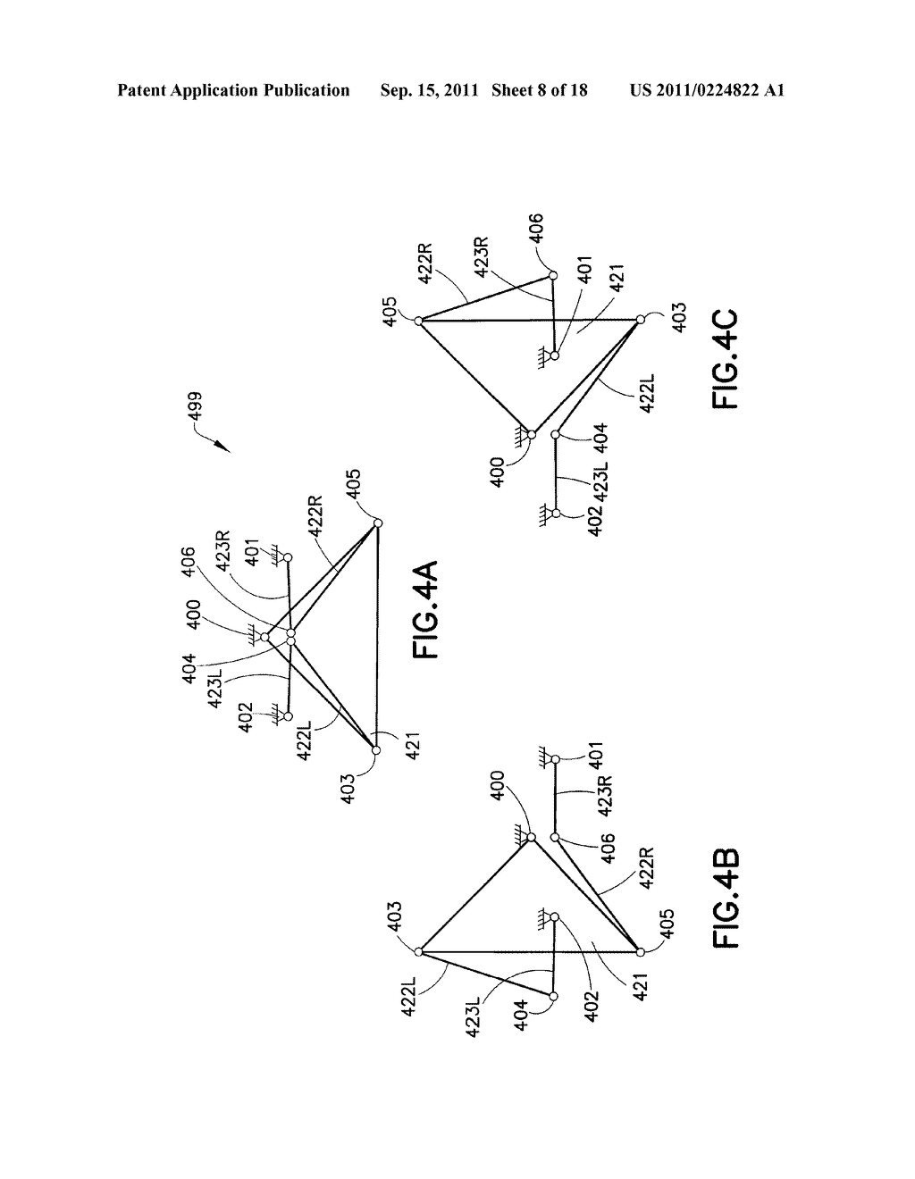 SUBSTRATE TRANSPORT APPARATUS WITH MULTIPLE INDEPENDENTLY MOVABLE     ARTICULATED ARMS - diagram, schematic, and image 09