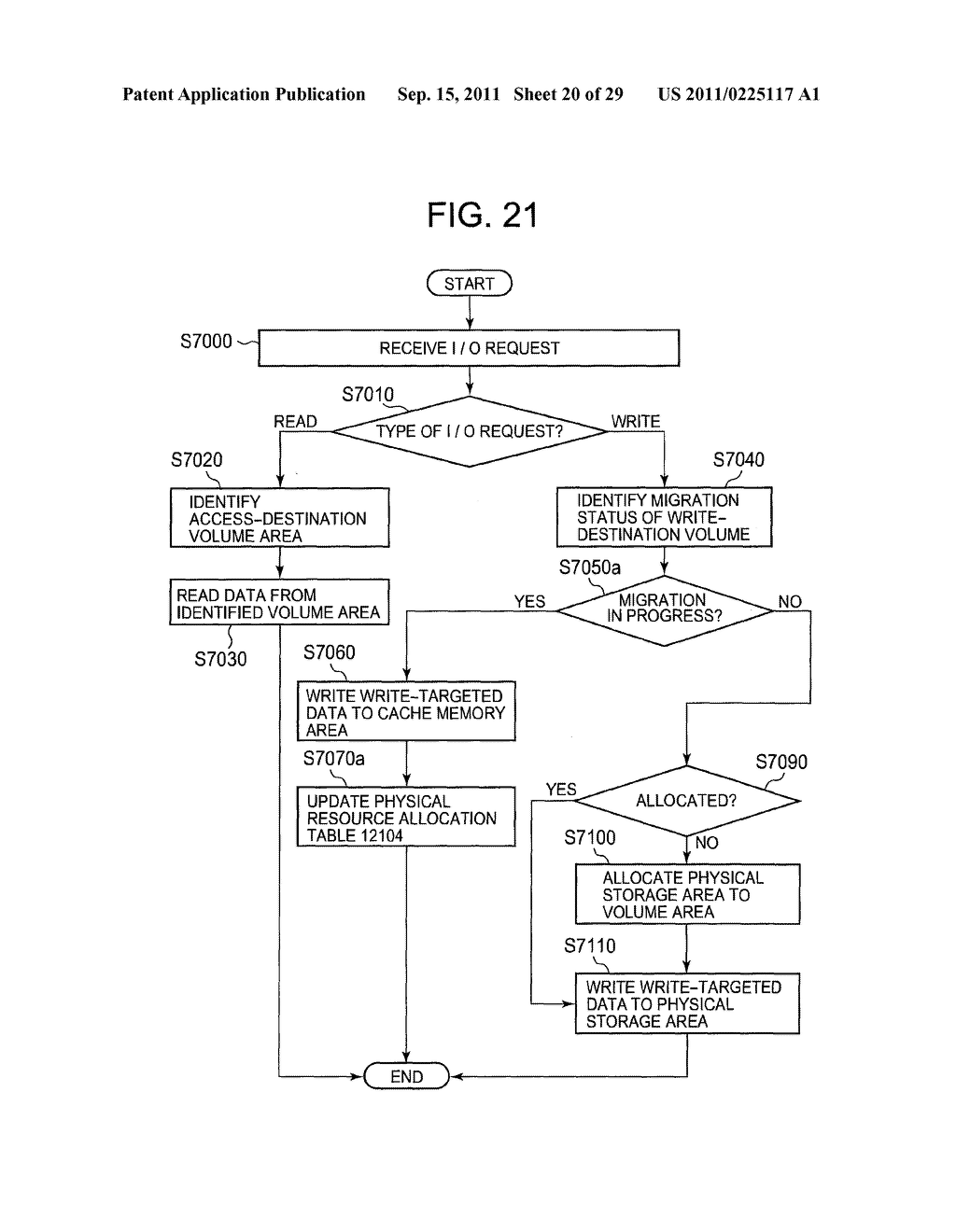 MANAGEMENT SYSTEM AND DATA ALLOCATION CONTROL METHOD FOR CONTROLLING     ALLOCATION OF DATA IN STORAGE SYSTEM - diagram, schematic, and image 21