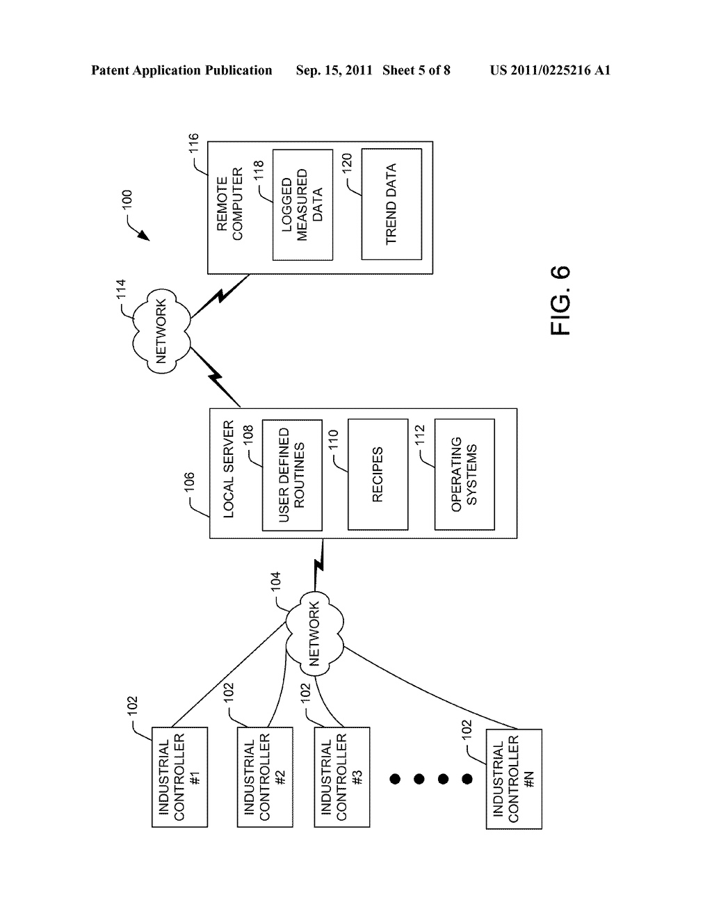 METHOD FOR CONSISTENT STORAGE OF DATA IN AN INDUSTRIAL CONTROLLER - diagram, schematic, and image 06