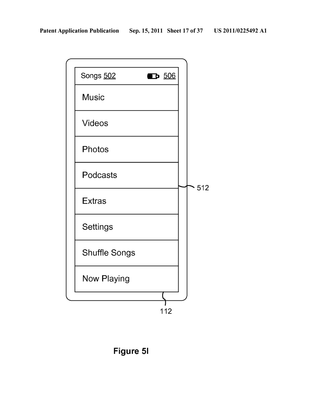 Device, Method, and Graphical User Interface for Marquee Scrolling within     a Display Area - diagram, schematic, and image 18