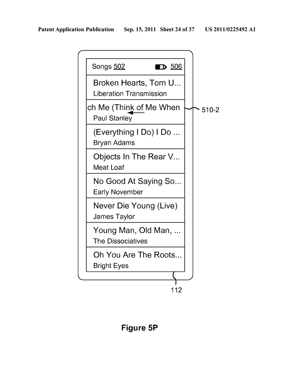 Device, Method, and Graphical User Interface for Marquee Scrolling within     a Display Area - diagram, schematic, and image 25