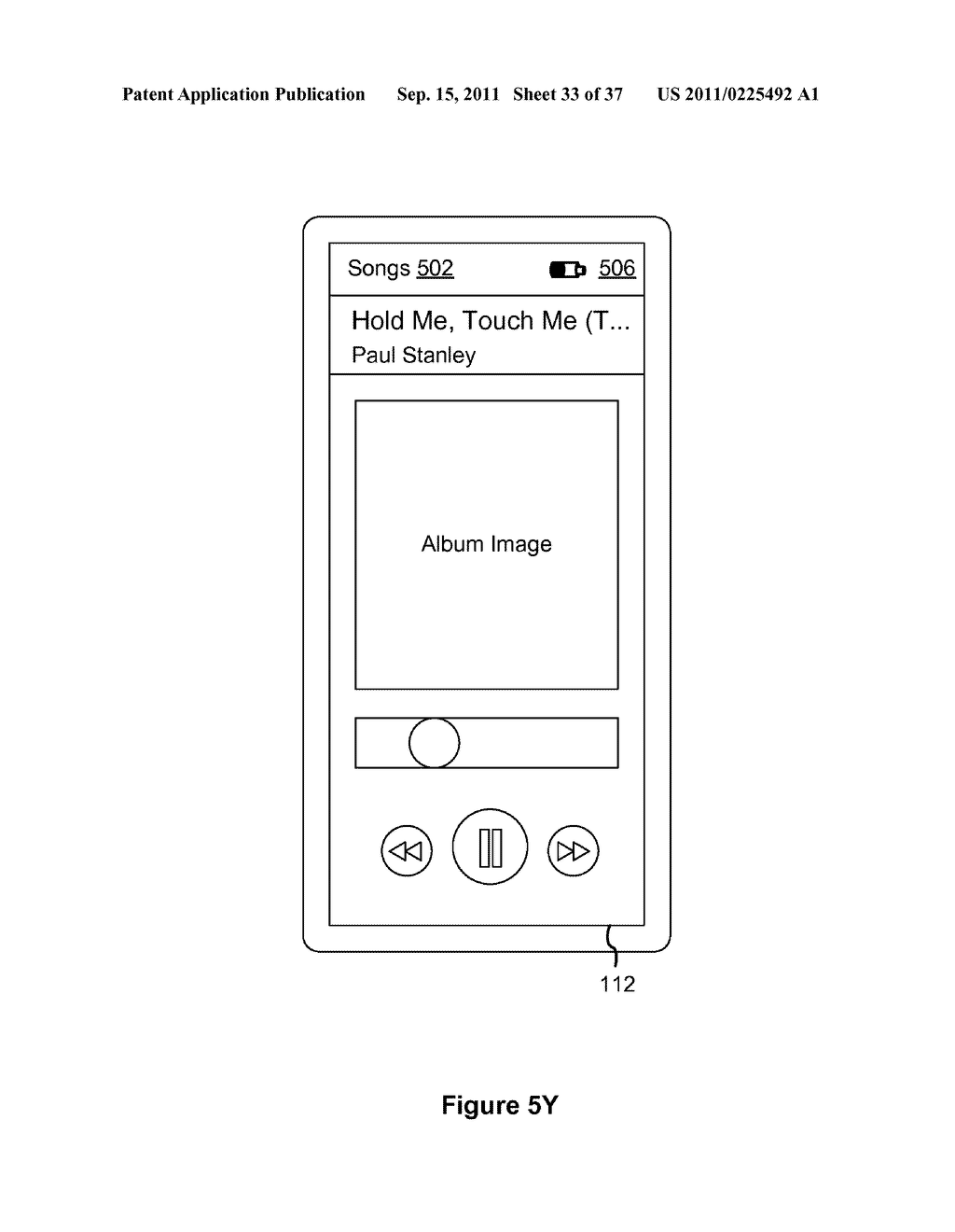 Device, Method, and Graphical User Interface for Marquee Scrolling within     a Display Area - diagram, schematic, and image 34