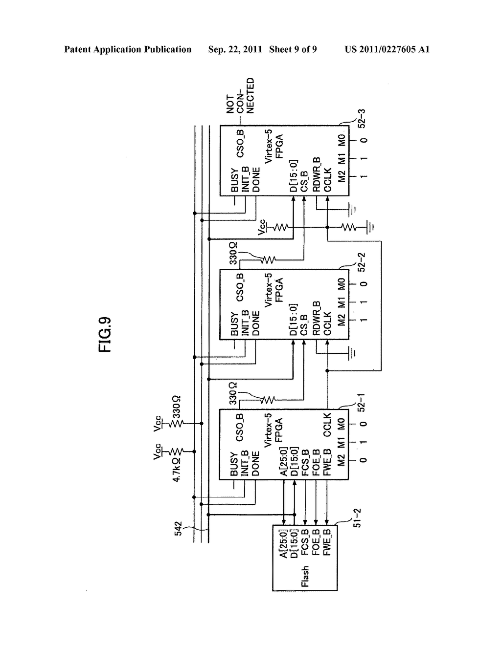Configuration method and FPGA circuit - diagram, schematic, and image 10