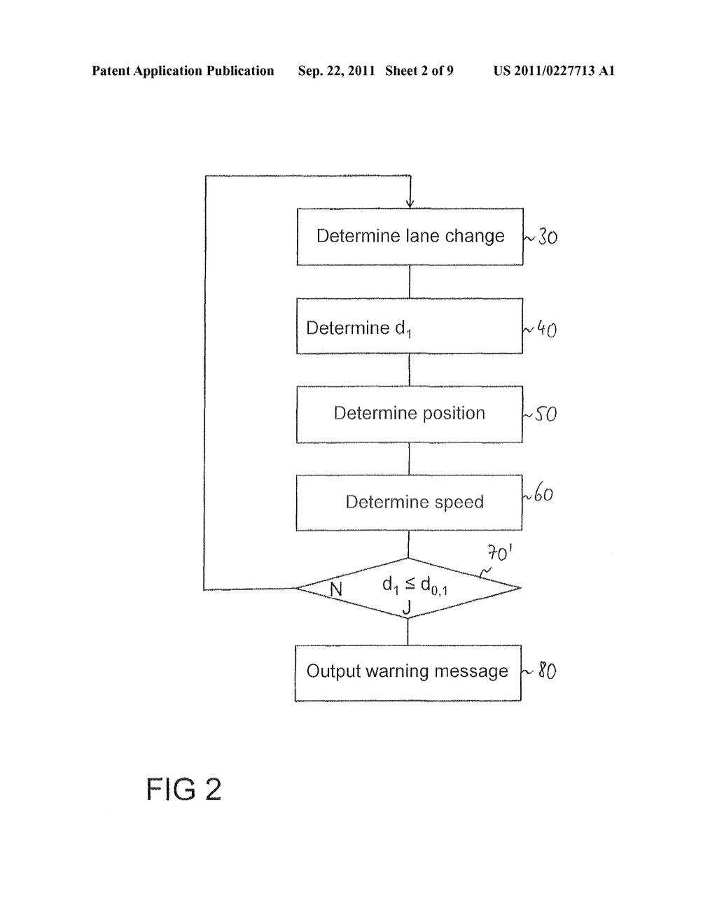 Method for the avoidance or mitigation of a collision, control apparatus     for a driver Assistance system and vehicle - diagram, schematic, and image 03