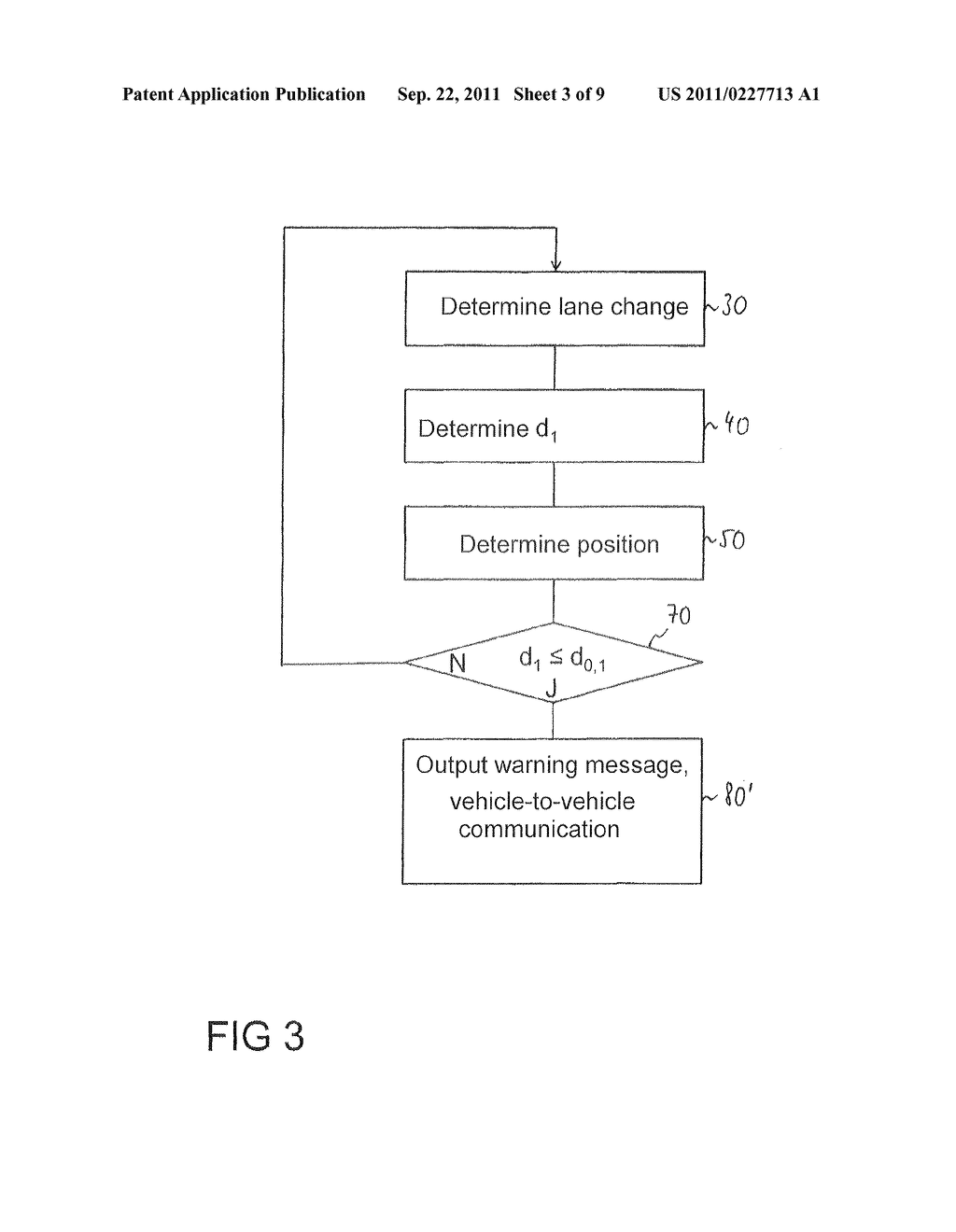 Method for the avoidance or mitigation of a collision, control apparatus     for a driver Assistance system and vehicle - diagram, schematic, and image 04