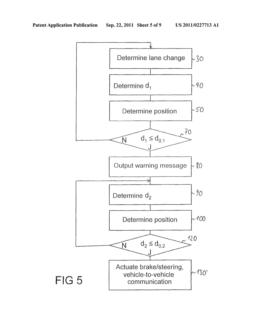 Method for the avoidance or mitigation of a collision, control apparatus     for a driver Assistance system and vehicle - diagram, schematic, and image 06