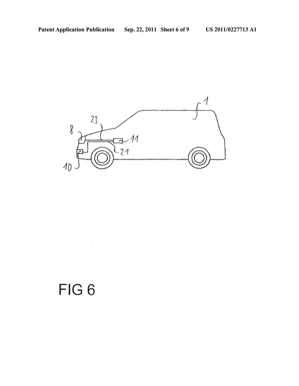 Method for the avoidance or mitigation of a collision, control apparatus     for a driver Assistance system and vehicle - diagram, schematic, and image 07