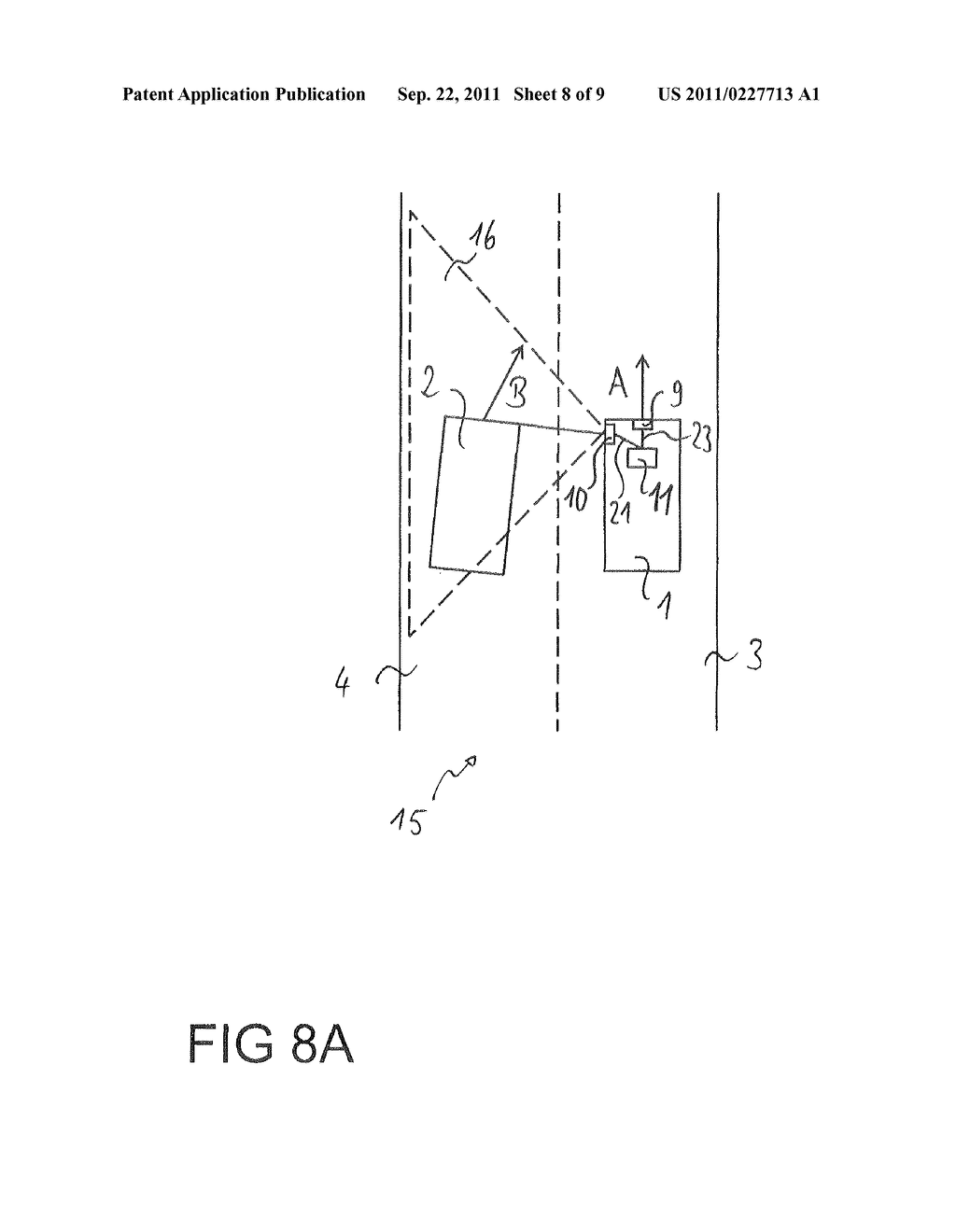 Method for the avoidance or mitigation of a collision, control apparatus     for a driver Assistance system and vehicle - diagram, schematic, and image 09
