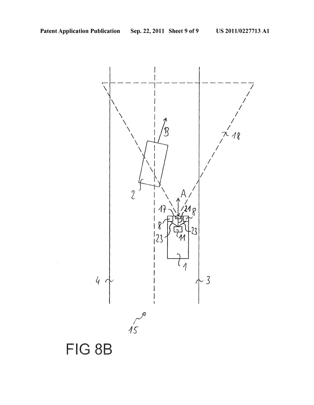 Method for the avoidance or mitigation of a collision, control apparatus     for a driver Assistance system and vehicle - diagram, schematic, and image 10