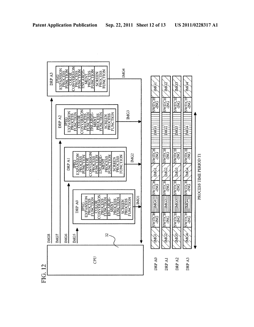IMAGE PROCESSING APPARATUS, IMAGE FORMING SYSTEM AND NON-TRANSITORY     COMPUTER READABLE MEDIUM - diagram, schematic, and image 13
