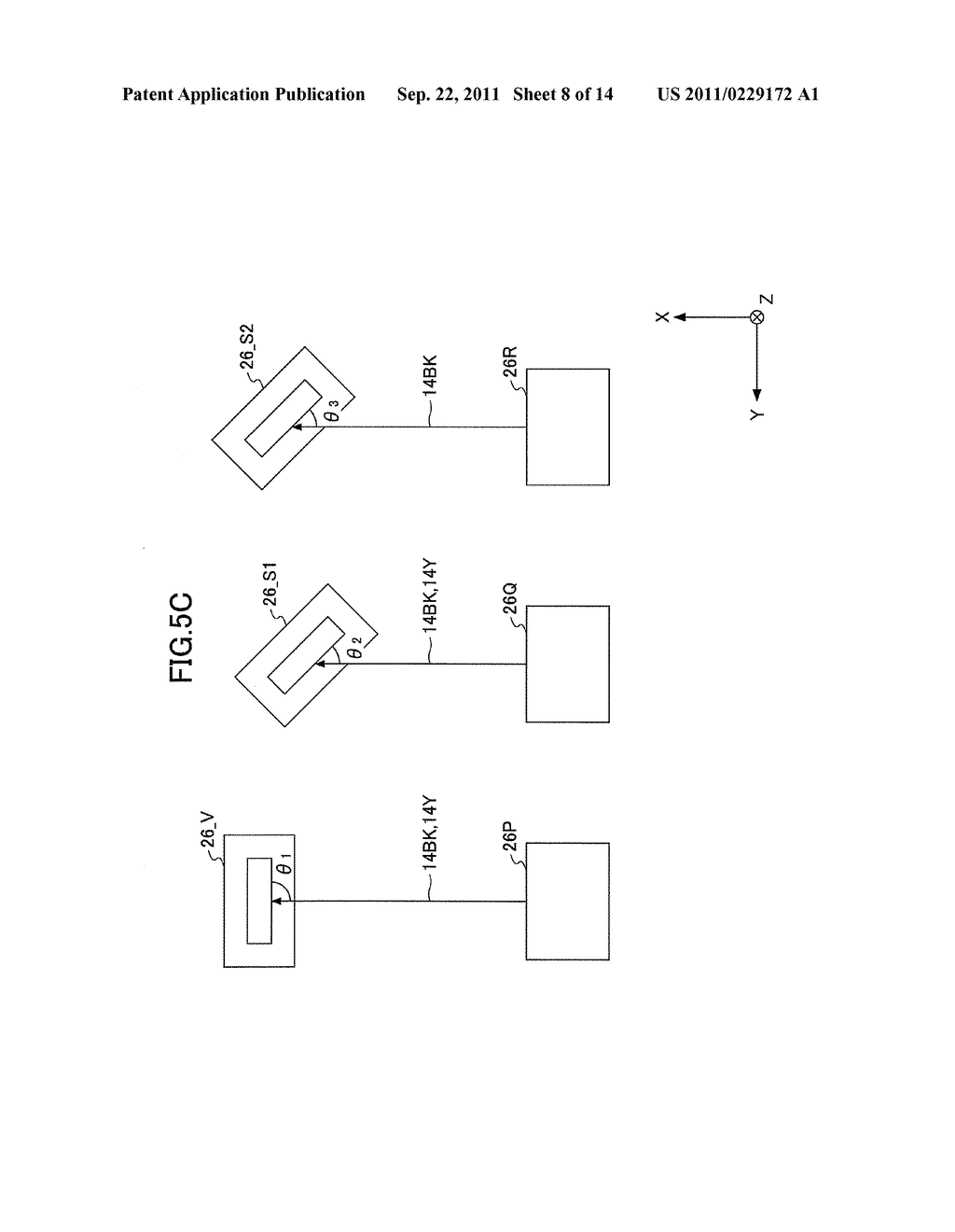 APPARATUS CONFIGURED TO FORM PLURAL IMAGES ON AN IMAGE CONVEYOR AND METHOD     CONFIGURED TO FORM PLURAL IMAGES ON AN IMAGE CONVEYOR USING THE APPARATUS - diagram, schematic, and image 09