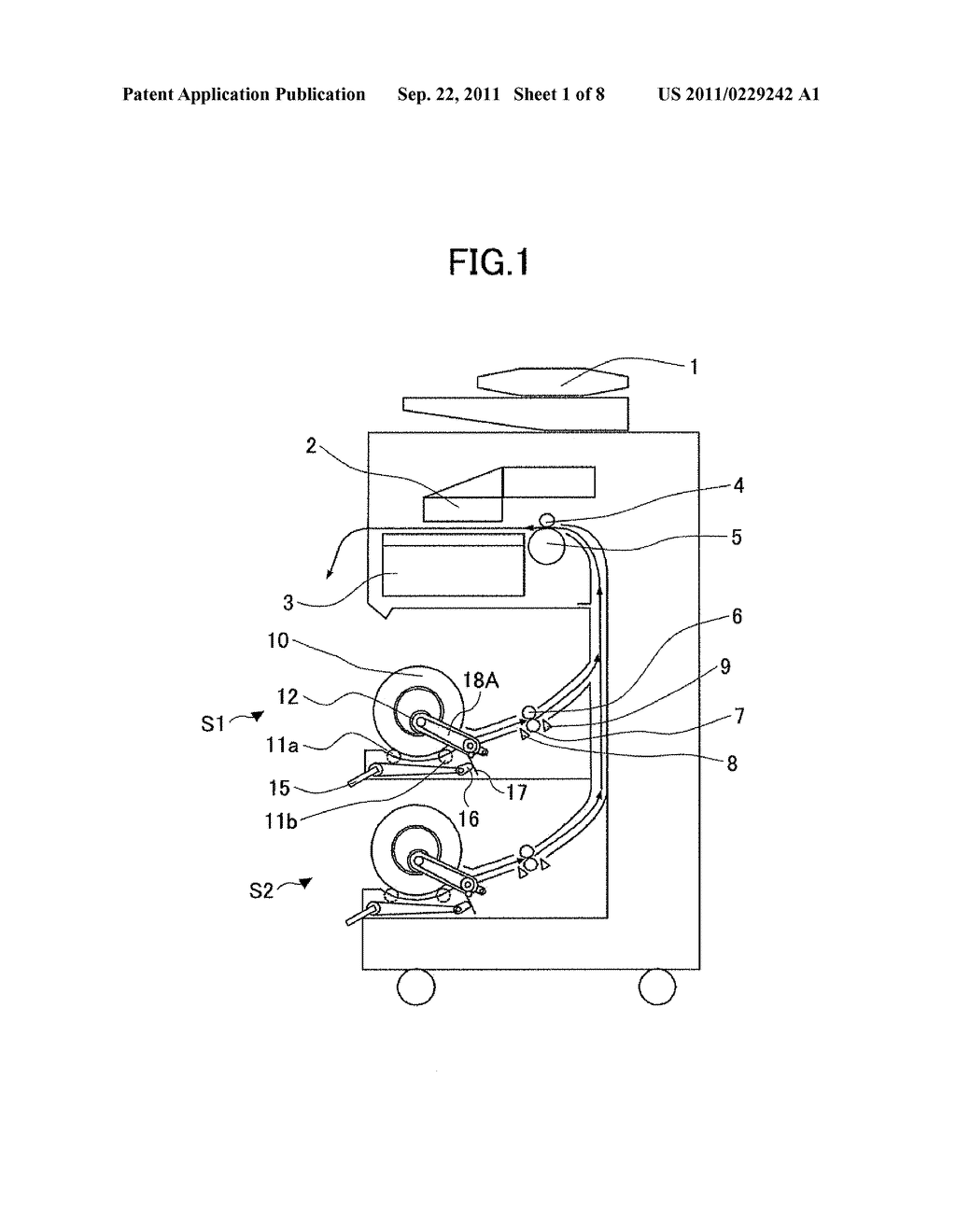 ROLLED PAPER DRIVING APPARATUS AND IMAGE FORMING APPARATUS - diagram, schematic, and image 02