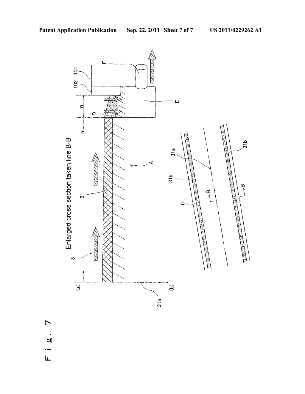 PAVEMENT BODY, METHOD FOR CONSTRUCTING PAVEMENT BODY, AND MOLD FORM FOR     CONCRETE - diagram, schematic, and image 08