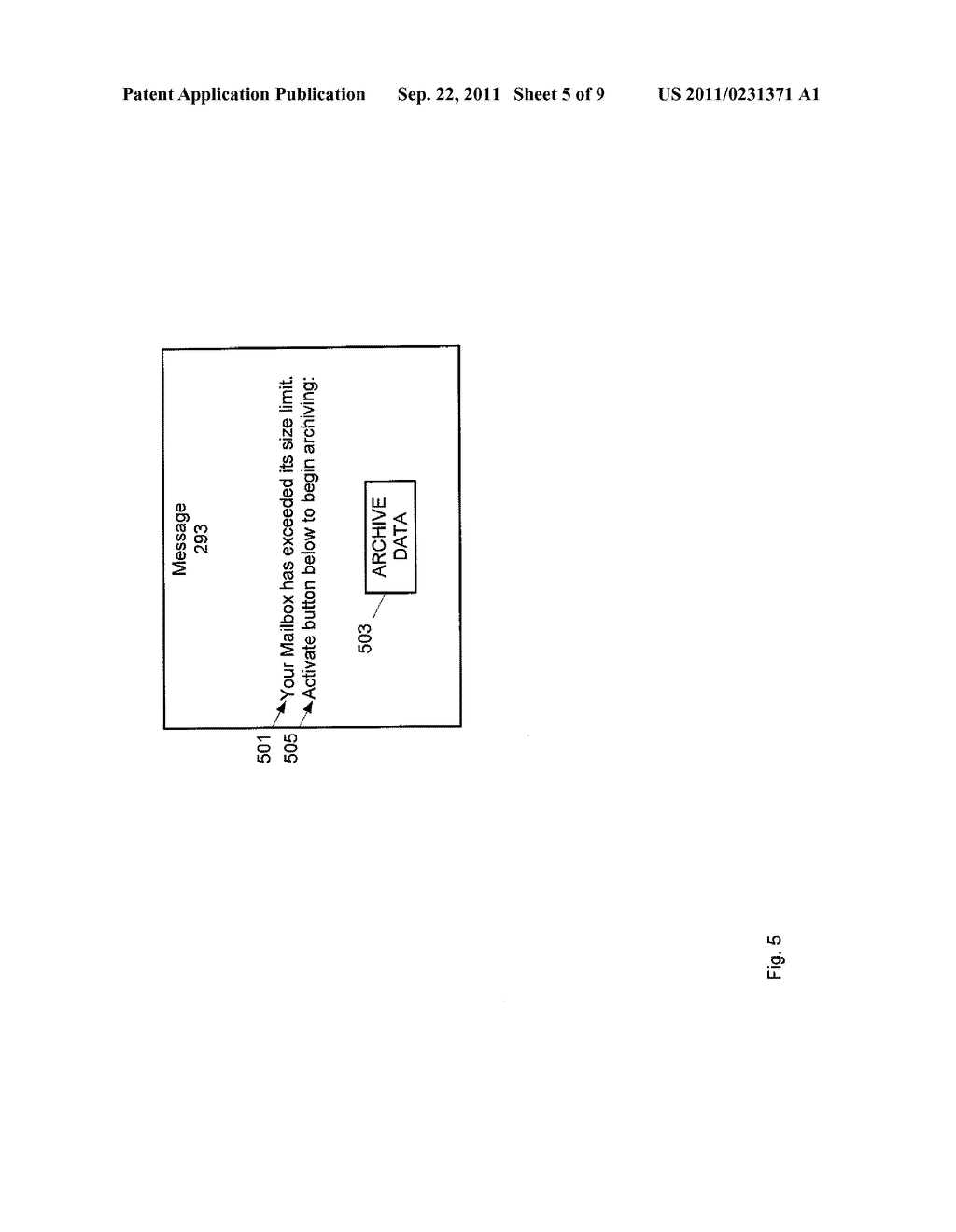 METHOD, SYSTEM AND APPARATUS FOR ARCHIVING DATA - diagram, schematic, and image 06