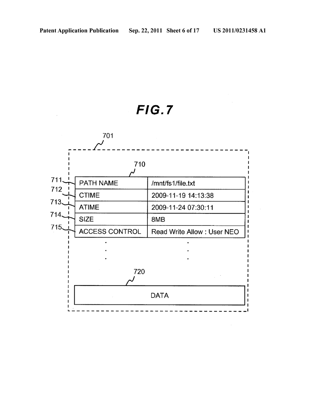 FILE LEVEL HIERARCHICAL STORAGE MANAGEMENT SYSTEM, METHOD, AND APPARATUS - diagram, schematic, and image 07
