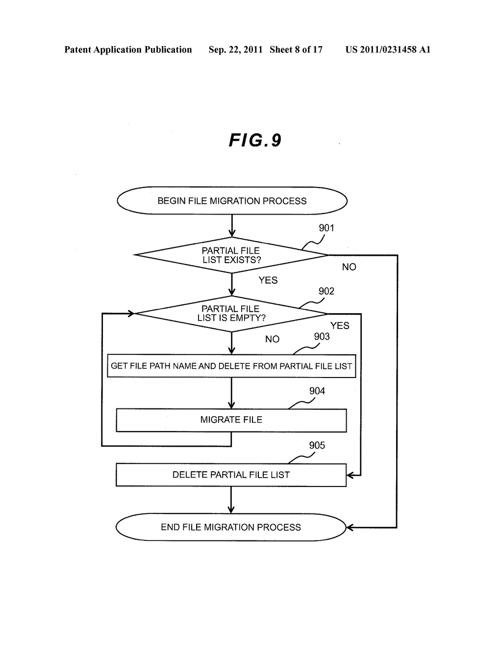 FILE LEVEL HIERARCHICAL STORAGE MANAGEMENT SYSTEM, METHOD, AND APPARATUS - diagram, schematic, and image 09