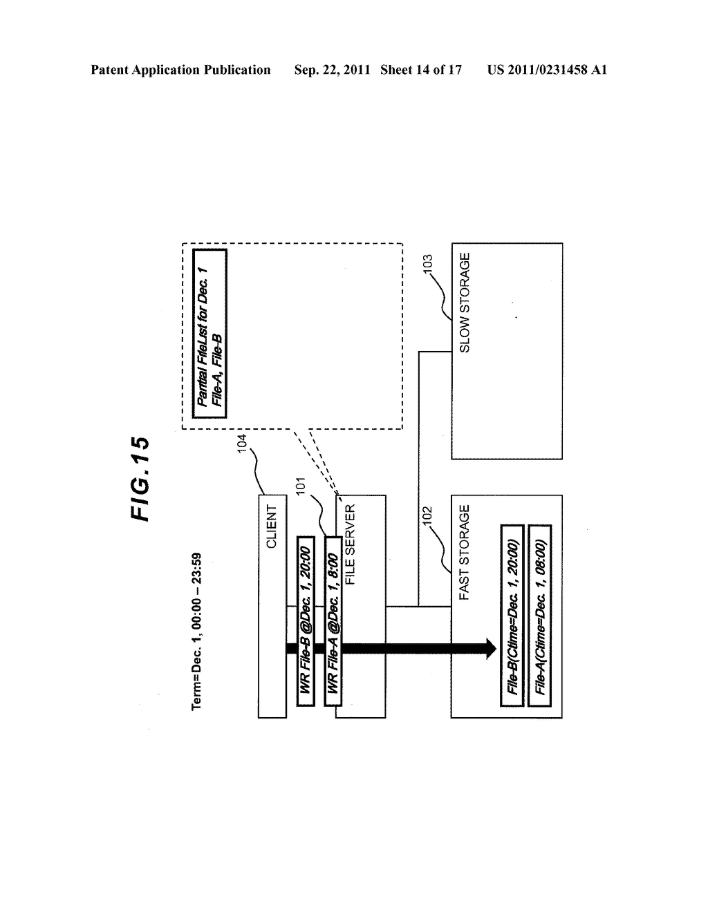 FILE LEVEL HIERARCHICAL STORAGE MANAGEMENT SYSTEM, METHOD, AND APPARATUS - diagram, schematic, and image 15