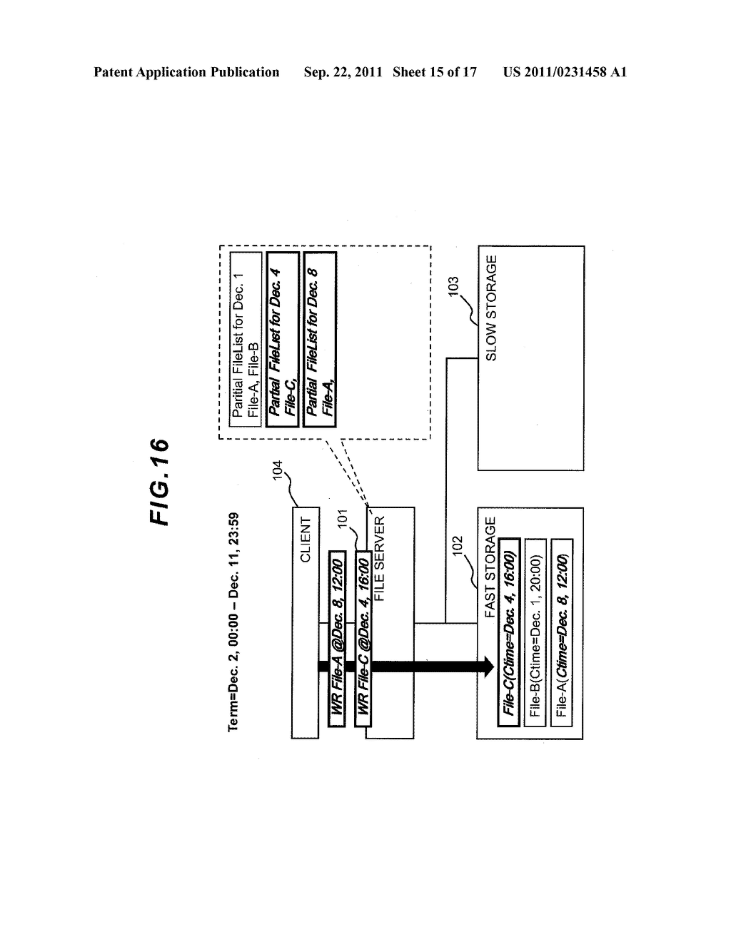 FILE LEVEL HIERARCHICAL STORAGE MANAGEMENT SYSTEM, METHOD, AND APPARATUS - diagram, schematic, and image 16