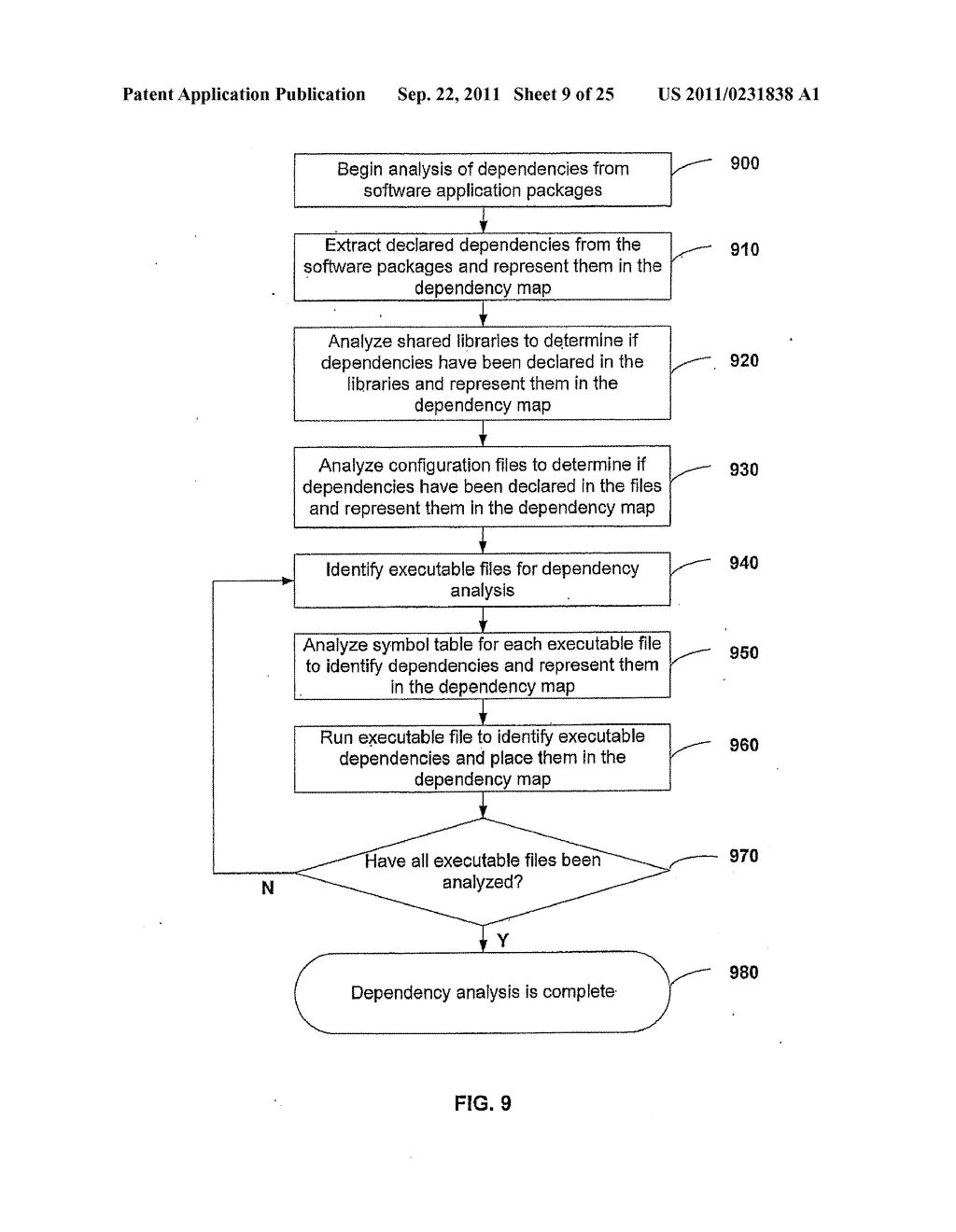 APPARATUS AND METHOD FOR INSTALLING SOFTWARE USING A SOFTWARE DEPENDENCY     MAP - diagram, schematic, and image 10