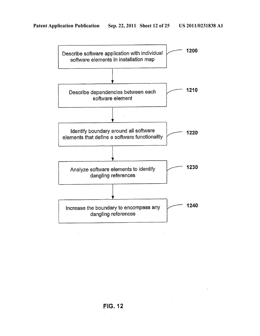 APPARATUS AND METHOD FOR INSTALLING SOFTWARE USING A SOFTWARE DEPENDENCY     MAP - diagram, schematic, and image 13