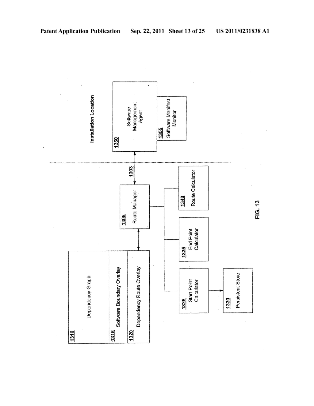 APPARATUS AND METHOD FOR INSTALLING SOFTWARE USING A SOFTWARE DEPENDENCY     MAP - diagram, schematic, and image 14