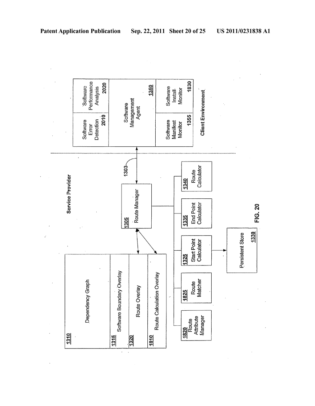 APPARATUS AND METHOD FOR INSTALLING SOFTWARE USING A SOFTWARE DEPENDENCY     MAP - diagram, schematic, and image 21