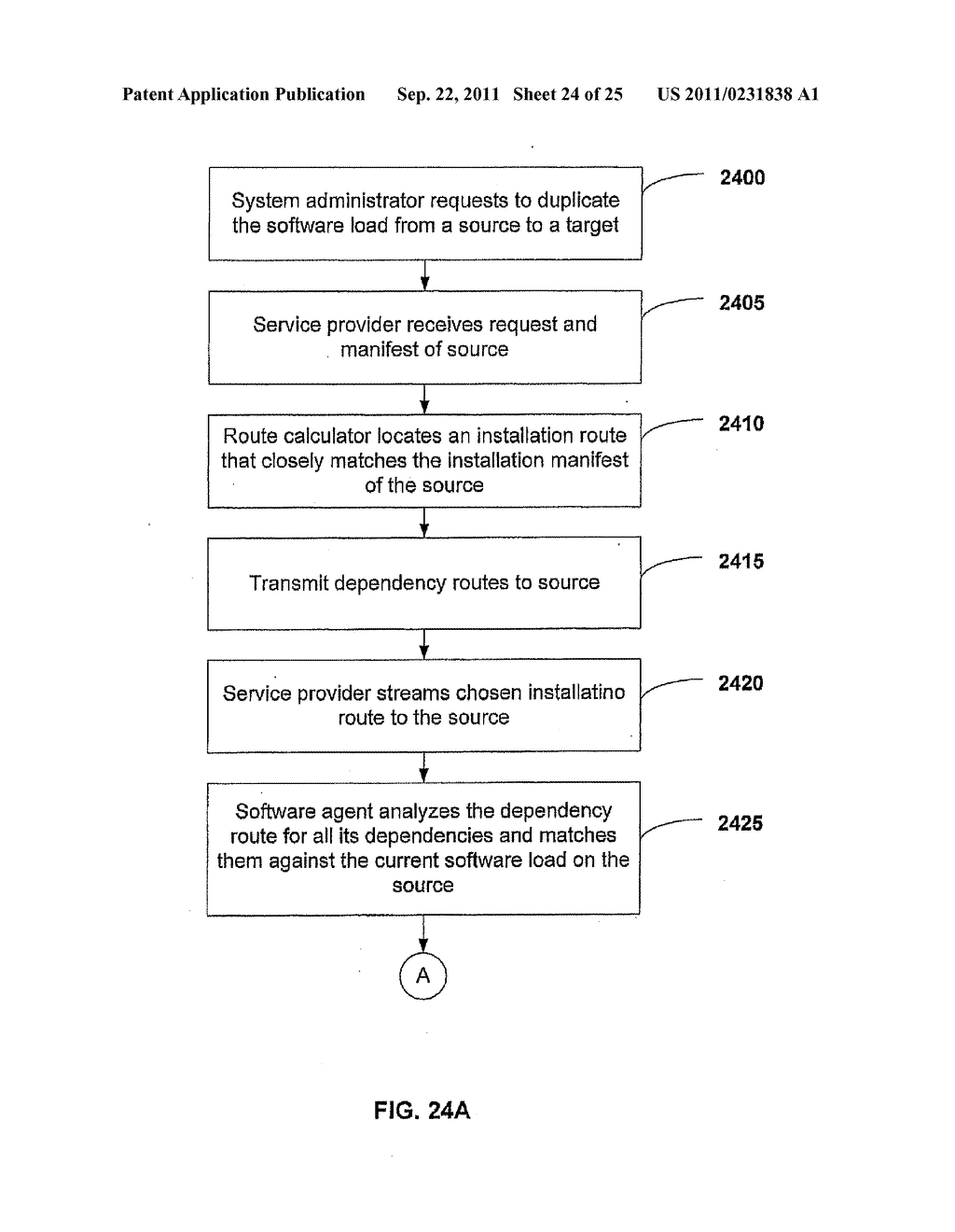 APPARATUS AND METHOD FOR INSTALLING SOFTWARE USING A SOFTWARE DEPENDENCY     MAP - diagram, schematic, and image 25