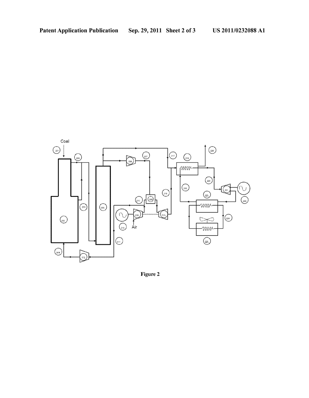 Integration Of Coal Fired Steam Plants With Integrated Gasification Power Plant Diagram Combined Cycle Schematic And Image 03