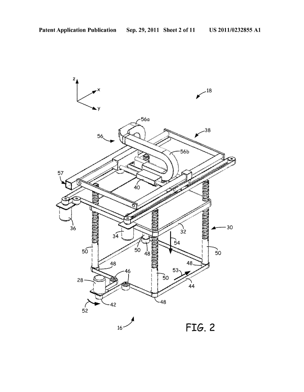 SYSTEM AND METHOD FOR BUILDING THREE-DIMENSIONAL OBJECTS WITH METAL-BASED     ALLOYS - diagram, schematic, and image 03