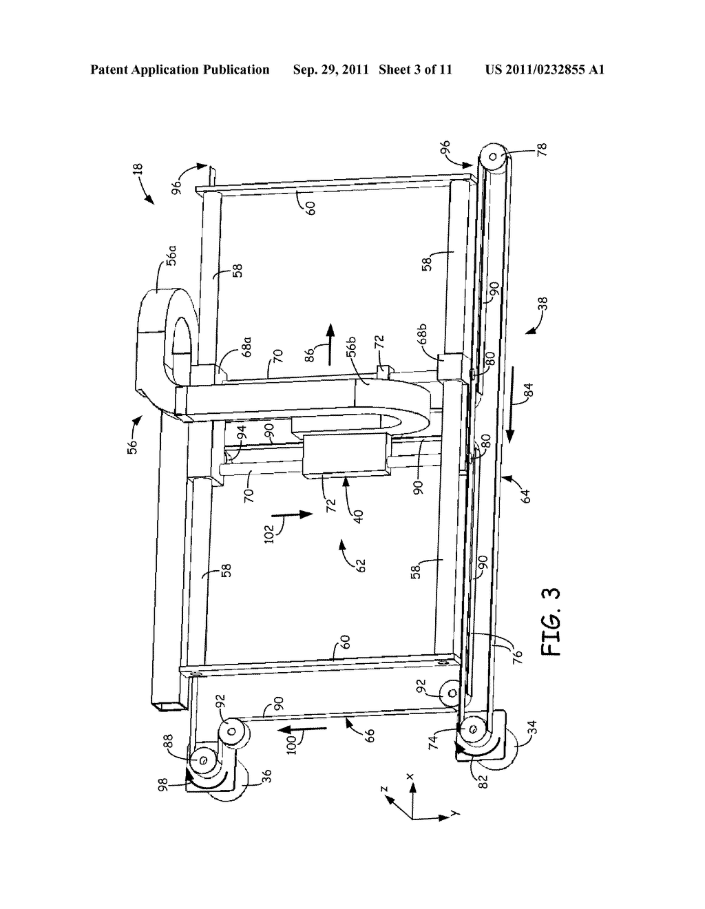 SYSTEM AND METHOD FOR BUILDING THREE-DIMENSIONAL OBJECTS WITH METAL-BASED     ALLOYS - diagram, schematic, and image 04