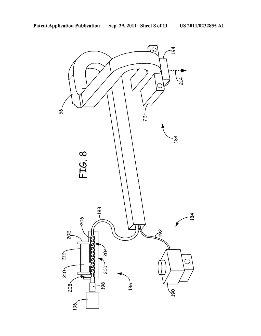 SYSTEM AND METHOD FOR BUILDING THREE-DIMENSIONAL OBJECTS WITH METAL-BASED     ALLOYS - diagram, schematic, and image 09
