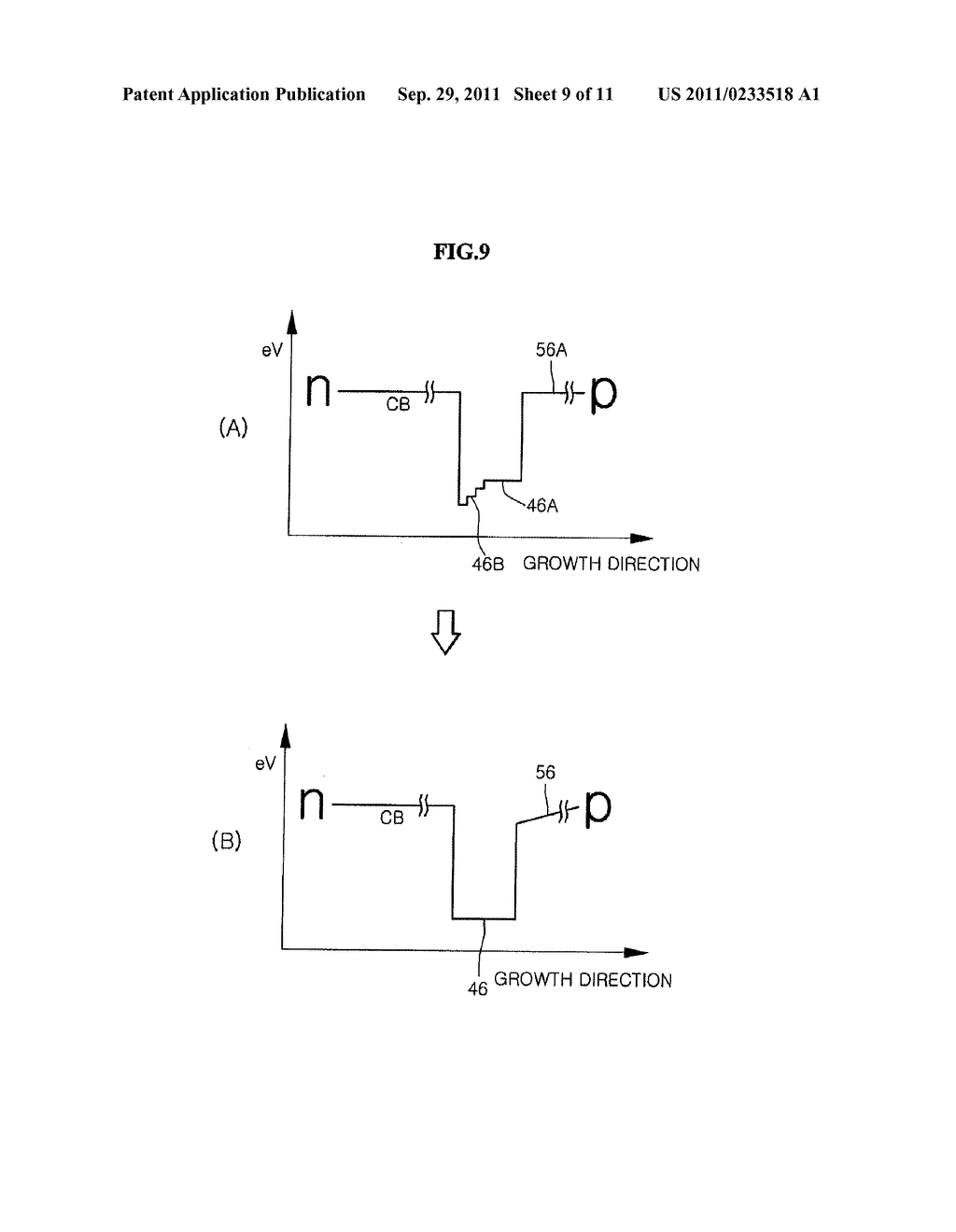 SEMICONDUCTOR LIGHT EMITTING DEVICE AND METHOD FOR MANUFACTURING THE SAME - diagram, schematic, and image 10