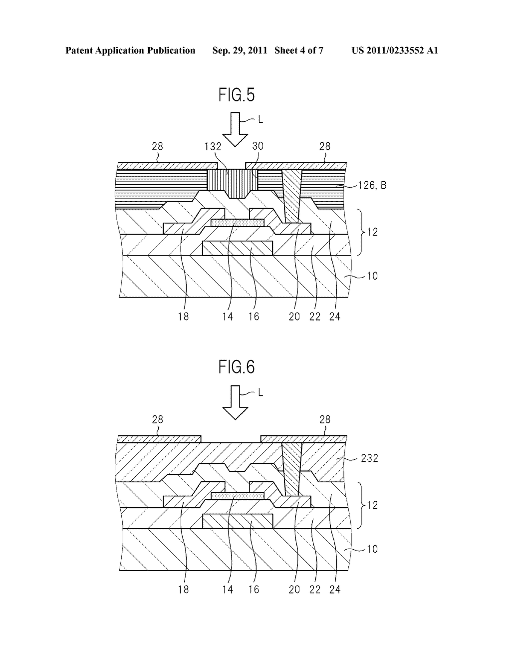 TFT BOARD FOR LIQUID CRYSTAL DISPLAY DEVICE AND MANUFACTURING METHOD FOR     LIQUID CRYSTAL DISPLAY DEVICE - diagram, schematic, and image 05