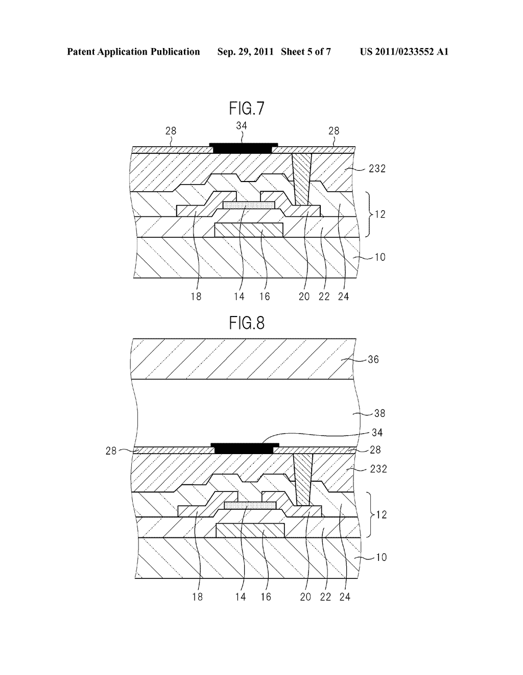 TFT BOARD FOR LIQUID CRYSTAL DISPLAY DEVICE AND MANUFACTURING METHOD FOR     LIQUID CRYSTAL DISPLAY DEVICE - diagram, schematic, and image 06