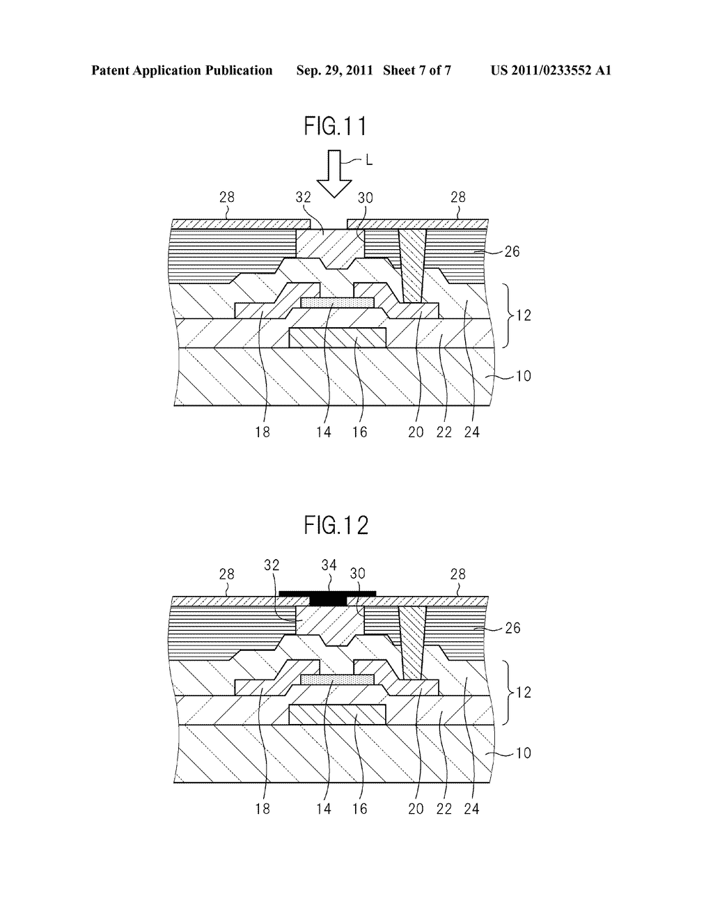 TFT BOARD FOR LIQUID CRYSTAL DISPLAY DEVICE AND MANUFACTURING METHOD FOR     LIQUID CRYSTAL DISPLAY DEVICE - diagram, schematic, and image 08