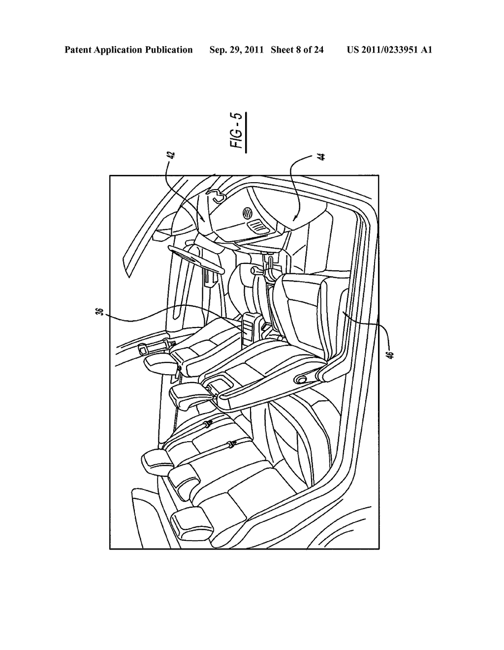 VEHICLE SEATING SYSTEM AND CABIN - diagram, schematic, and image 09