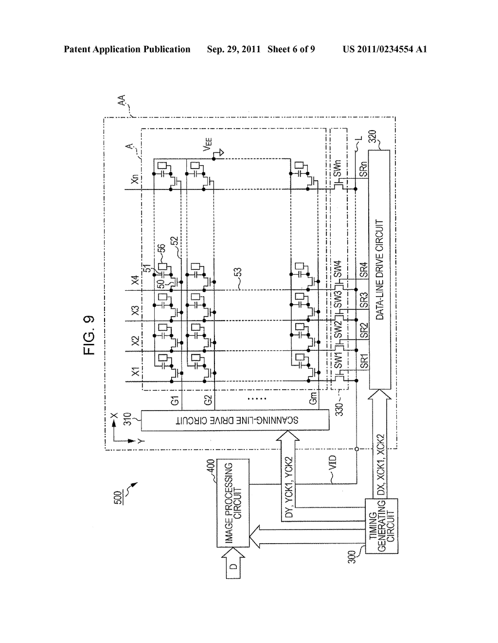 Shift Register Scanning Line Drive Circuit Data Diagram Electro Optical Device And Electronic Apparatus Schematic Image 07