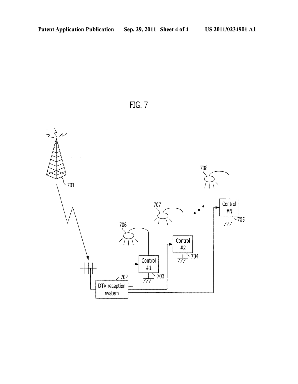 APPARATUS AND METHOD FOR CONTROLLING INFRASTRUCTURE BASED ON BROADCASTING     SIGNALS - diagram, schematic, and image 05