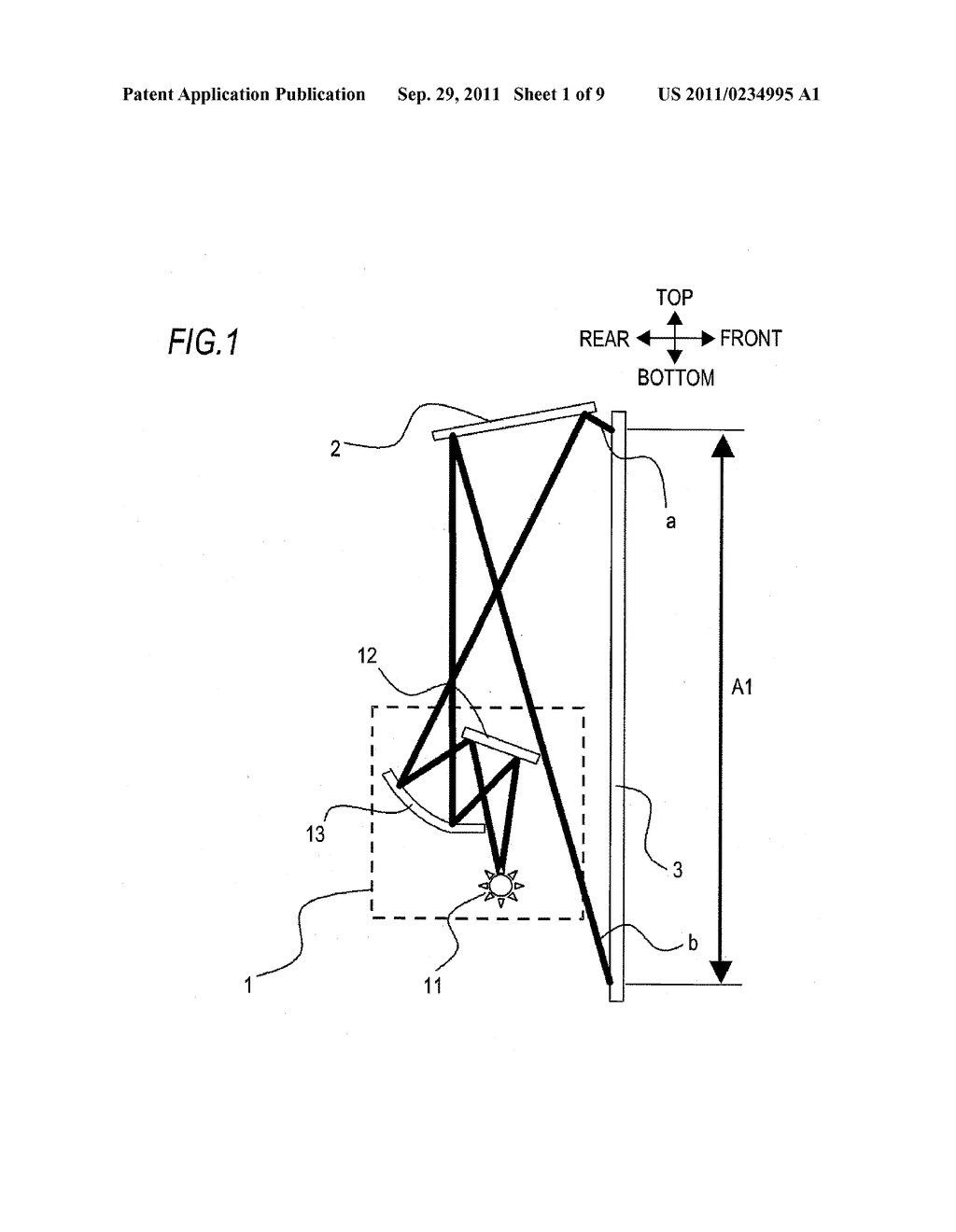 PROJECTION TYPE IMAGE DISPLAY APPARATUS - diagram, schematic, and image 02