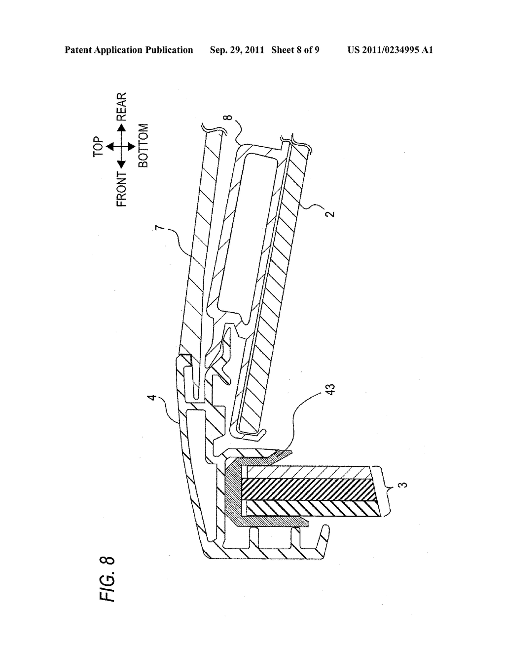 PROJECTION TYPE IMAGE DISPLAY APPARATUS - diagram, schematic, and image 09