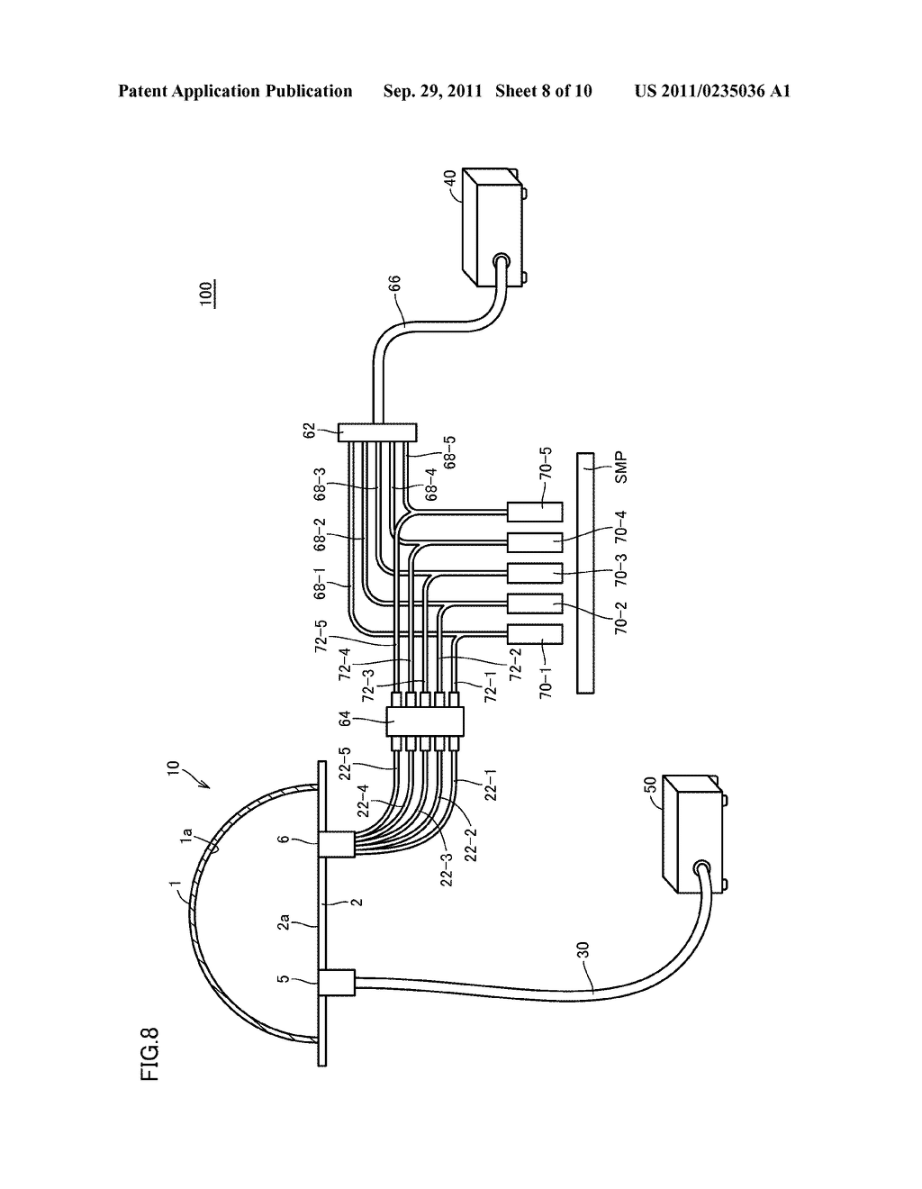 OPTICAL MEASUREMENT APPARATUS, OPTICAL MEASUREMENT SYSTEM, AND FIBER     COUPLER - diagram, schematic, and image 09