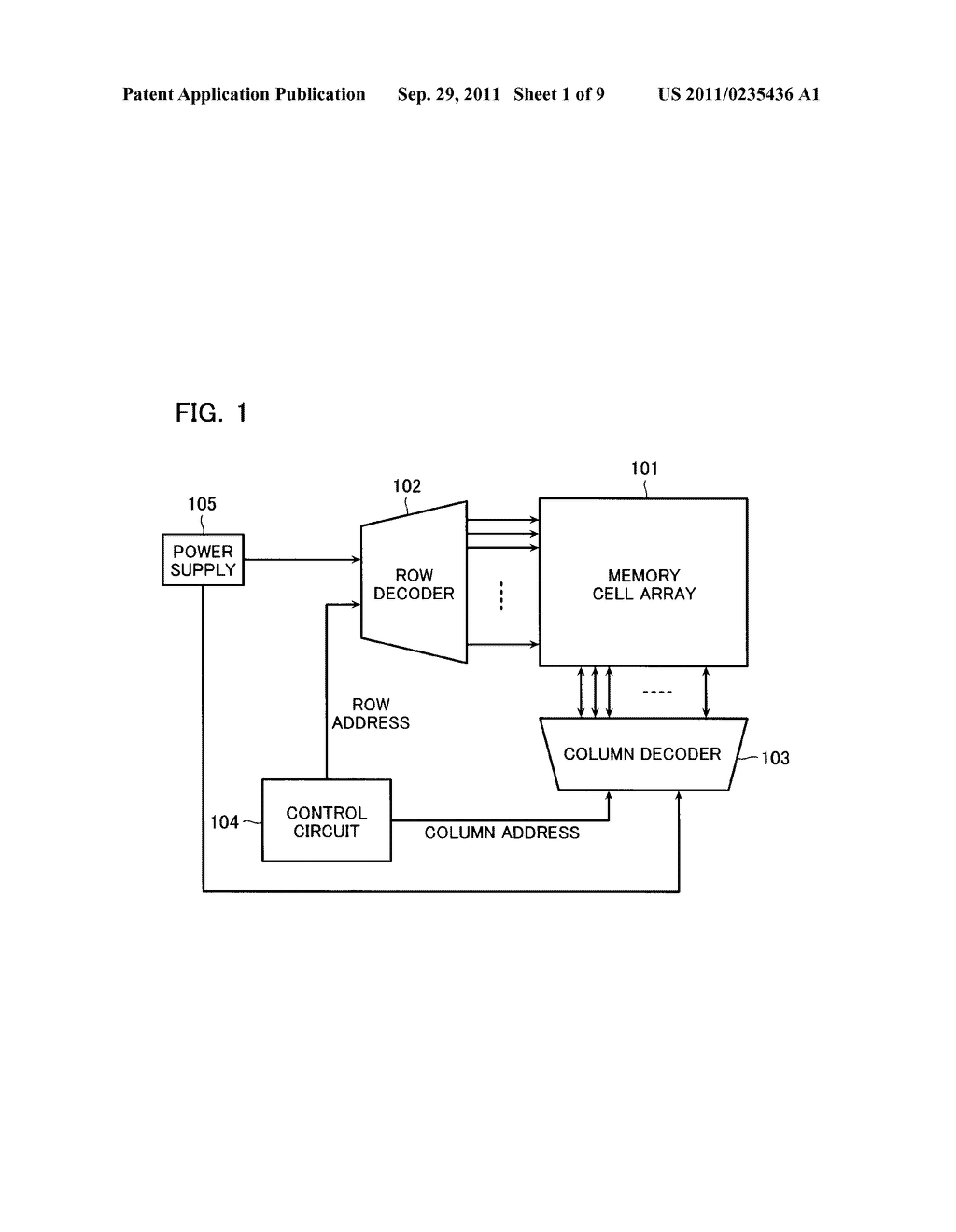 SEMICONDUCTOR MEMORY DEVICE - diagram, schematic, and image 02