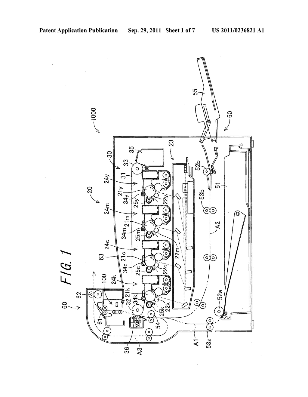 LASER FIXING DEVICE, IMAGE FORMING APPARATUS EQUIPPED WITH THE LASER     FIXING DEVICE, AND IMAGE FORMING METHOD EMPLOYING THE IMAGE FORMING     APPARATUS - diagram, schematic, and image 02