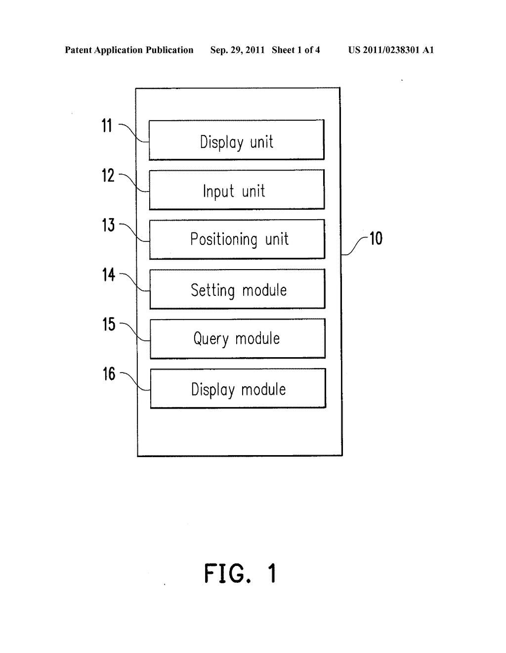 METHOD, MOBILE DEVICE AND COMPUTER-READABLE MEDIUM FOR DISPLAYING     SURROUNDING POINTS OF INTEREST - diagram, schematic, and image 02