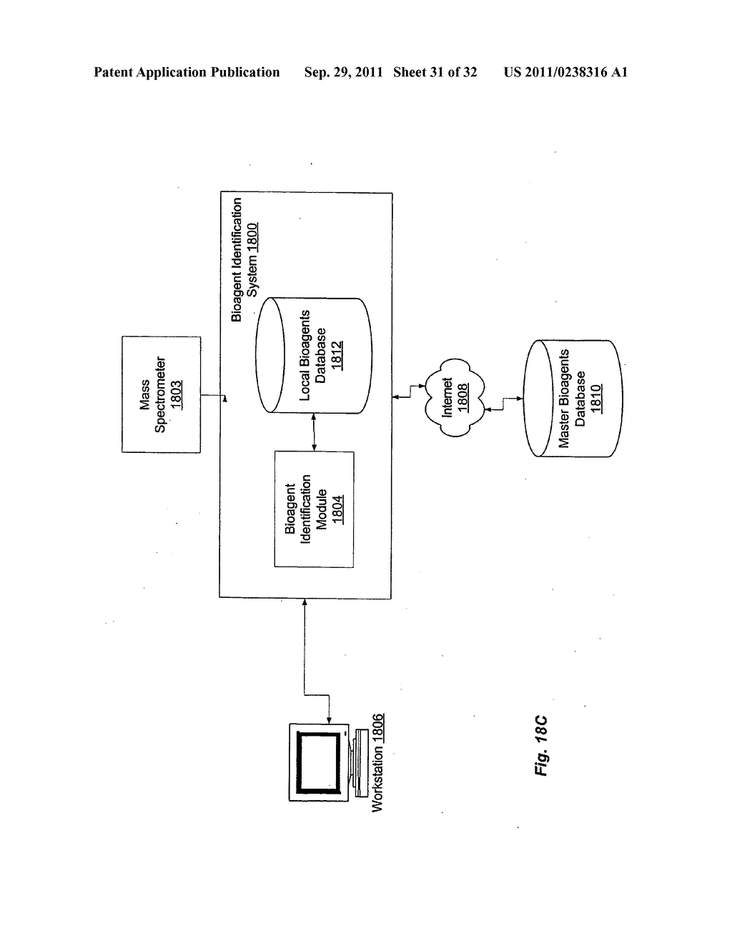 SECONDARY STRUCTURE DEFINING DATABASE AND METHODS FOR DETERMINING IDENTITY     AND GEOGRAPHIC ORIGIN OF AN UNKNOWN BIOAGENT THEREBY - diagram, schematic, and image 32