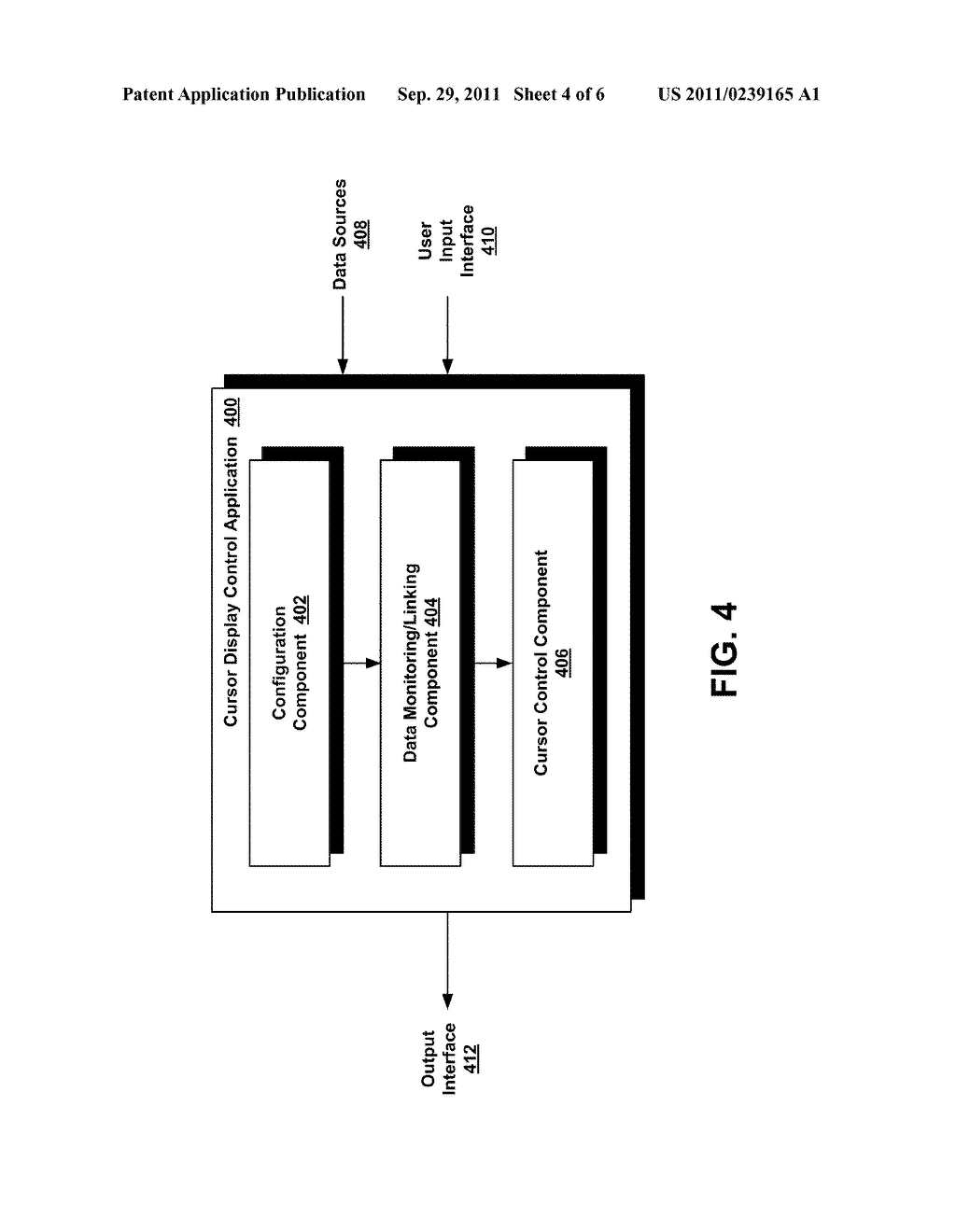 System and Method for Using a Cursor to Convey Information - diagram, schematic, and image 05