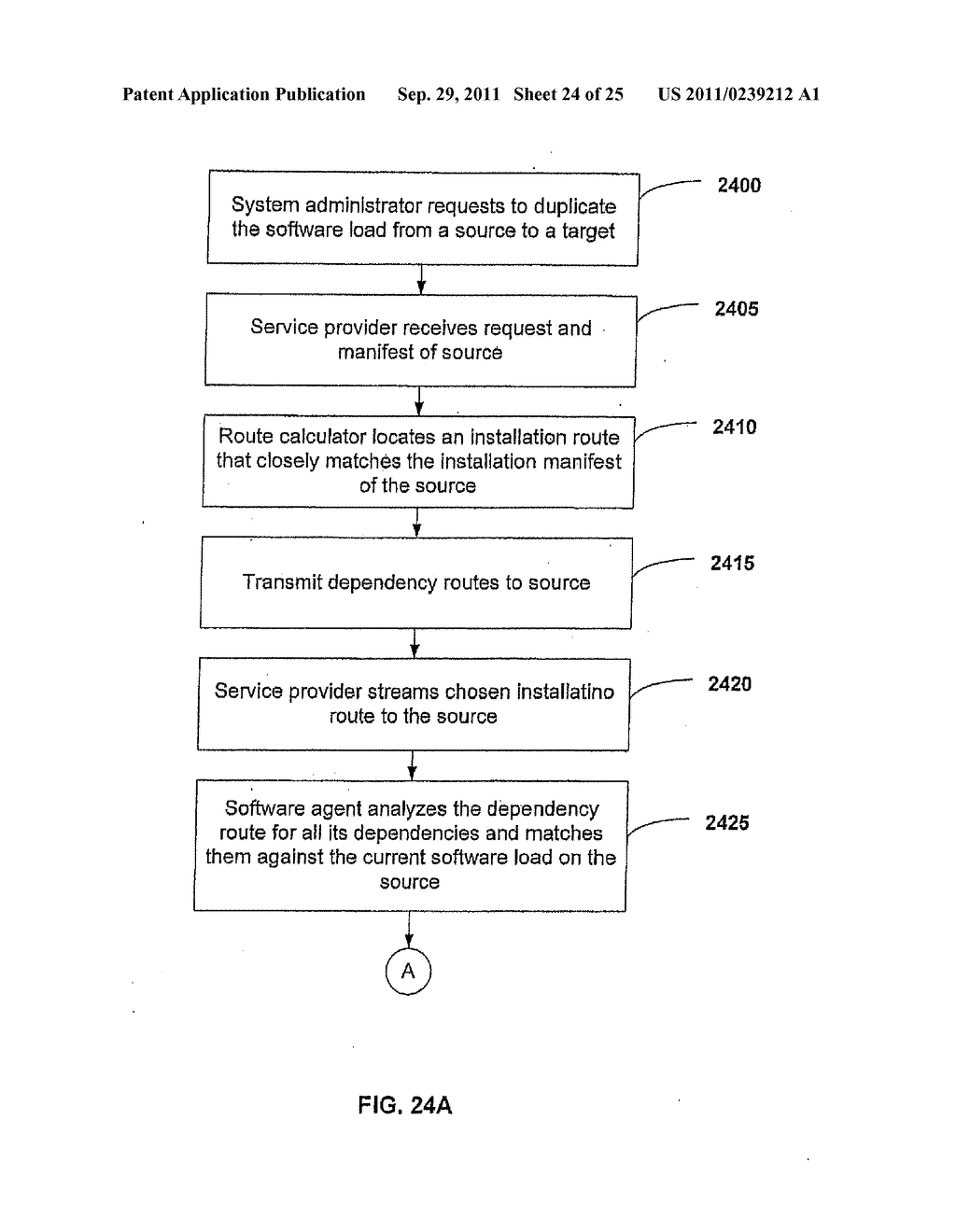 APPARATUS AND METHOD FOR AUTOMATED SOFTWARE INSTALLATION - diagram, schematic, and image 25