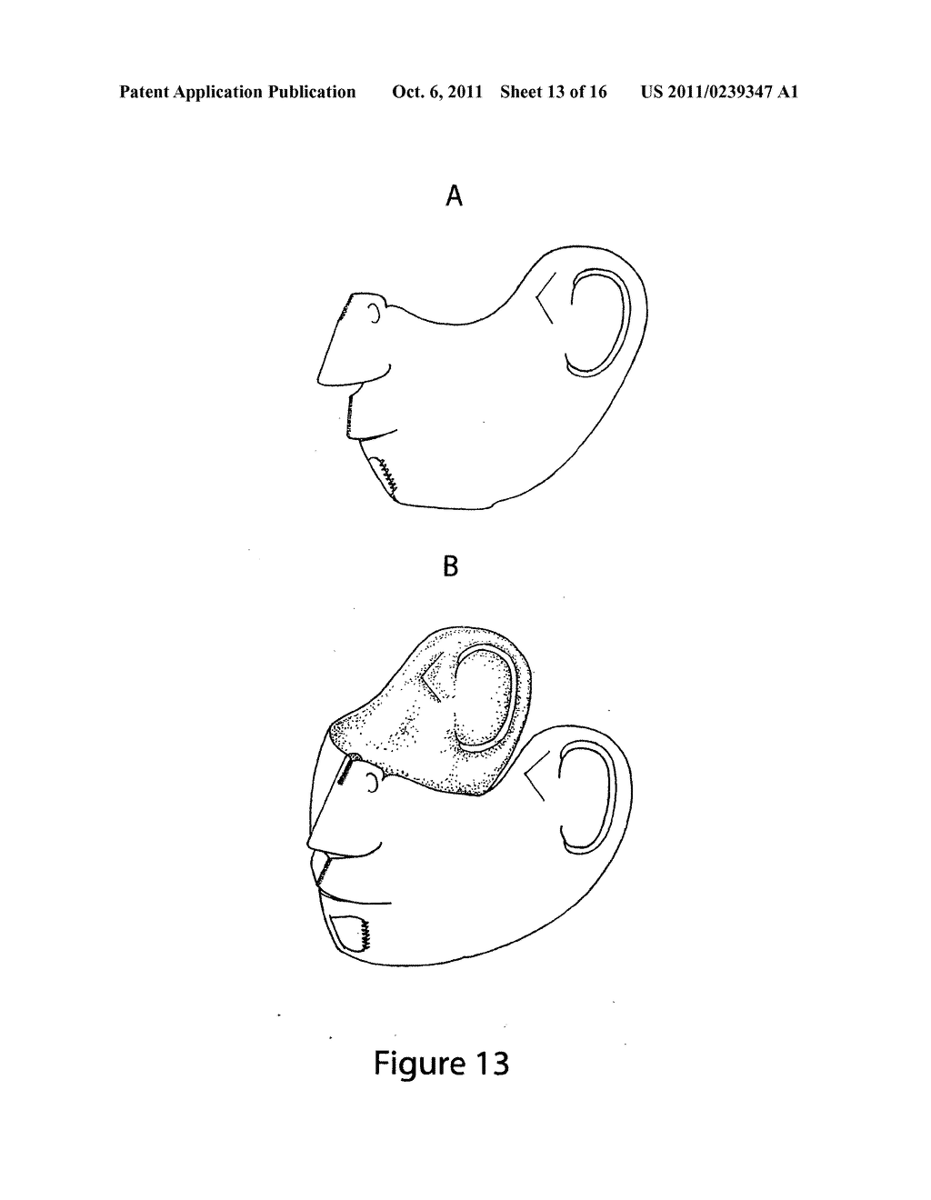 Flexible face mask apparatus - diagram, schematic, and image 14