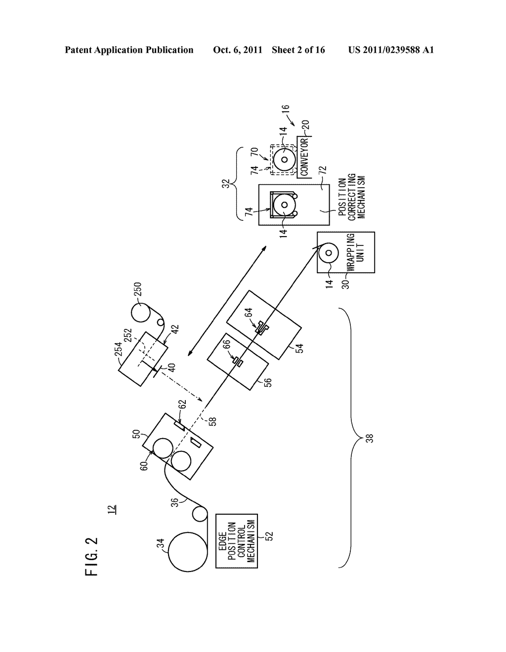 APPARATUS FOR AND METHOD OF PACKAGING PRODUCT ROLLS - diagram, schematic, and image 03