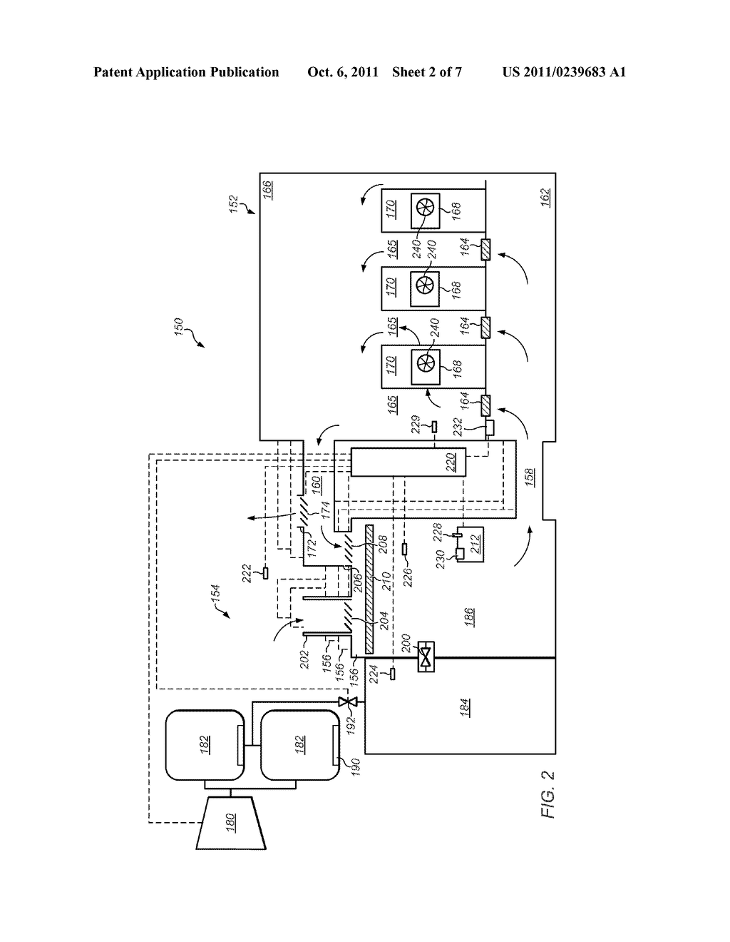 Compressed Air Cooling System For Data Center Diagram Schematic And Image 03